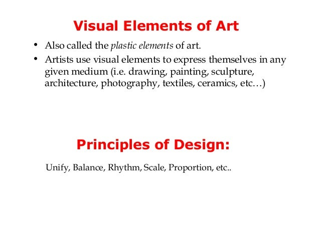 What Are The Visual Elements Of Art : Image gallery visual elements