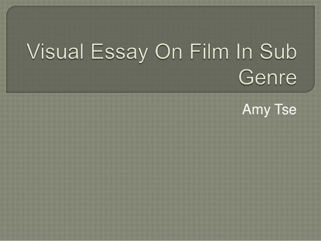 Visual Essay On Film In Sub Genre Upcoming Slideshare