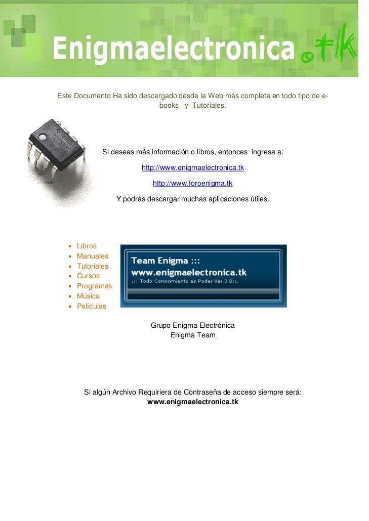 Este Documento Ha sido descargado desde la Web más completa en todo tipo de e-                            books y Tutorial...