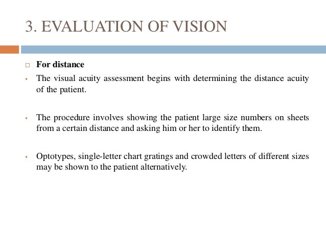 Visual Function Assessment In Low Vision