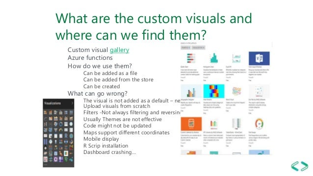 Visual guidance for power bi redmond sql sat 2019