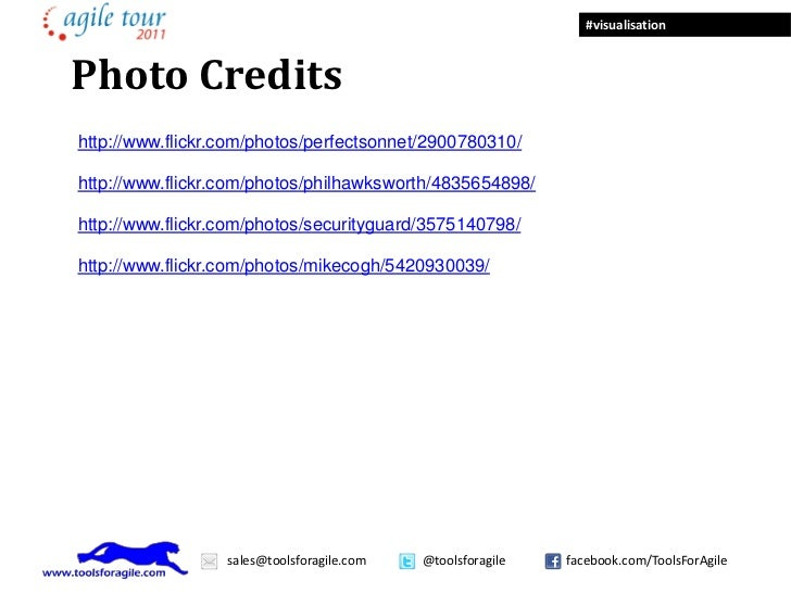 #visualisationPhoto Creditshttp://www.flickr.com/photos/perfectsonnet/2900780310/http://www.flickr.com/photos/philhawkswor...