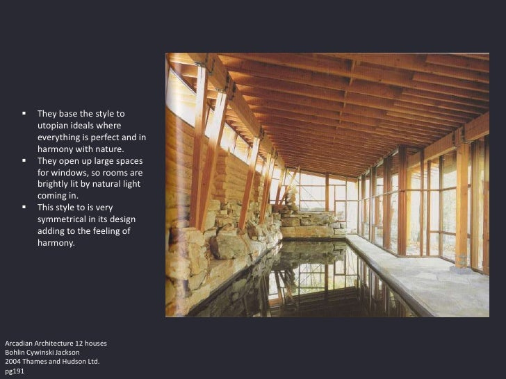    They base the style to         utopian ideals where         everything is perfect and in         harmony with nature. ...