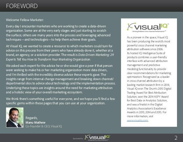 Data-Driven Marketing  Slide 2