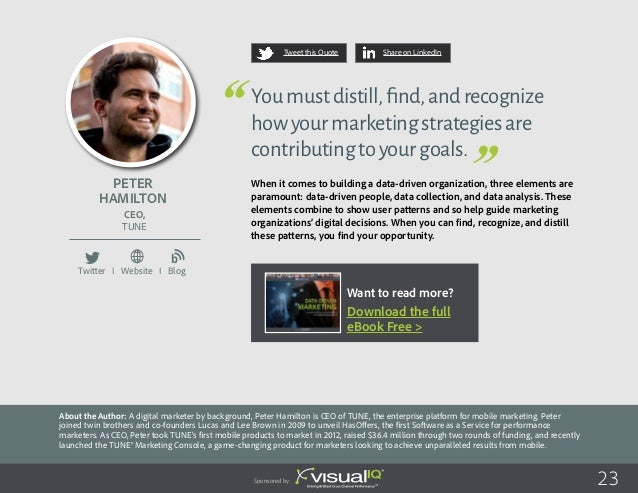 Michael Schneider About the Author: Michael Schneider is head of web analytics and trading at CTS Eventim AG & Co. KGaA, t...