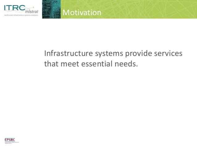 Visualising infrastructure options for sustainable development  Slide 2