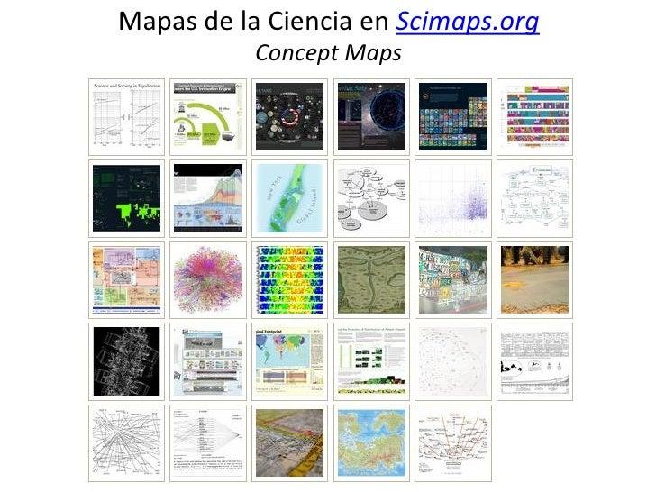Mapas de la Ciencia en Scimaps.org           Concept Maps