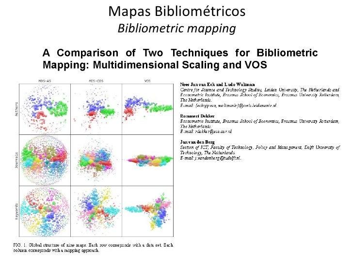 Mapas Bibliométricos Bibliometric mapping