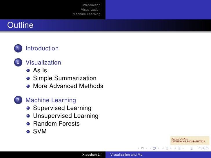 machine learning visualization