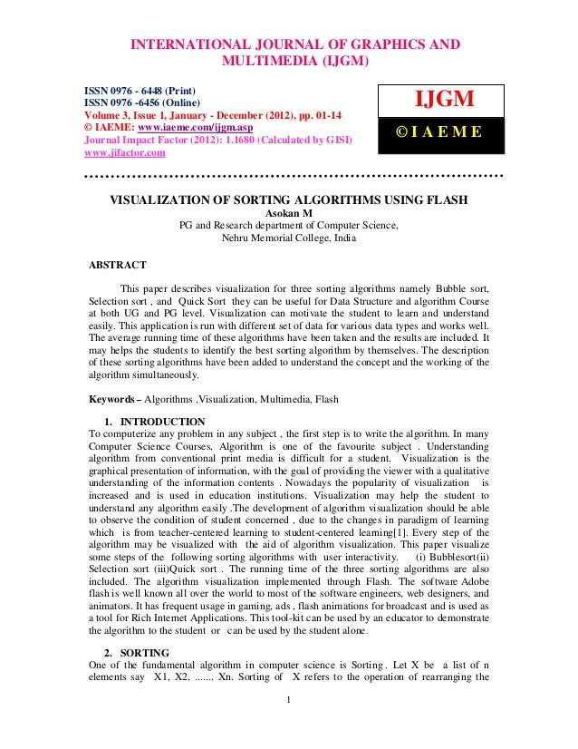 International Journal of Graphics andJOURNAL OF GRAPHICS AND ISSN          INTERNATIONAL Multimedia (IJGM), ISSN 0976 – 64...