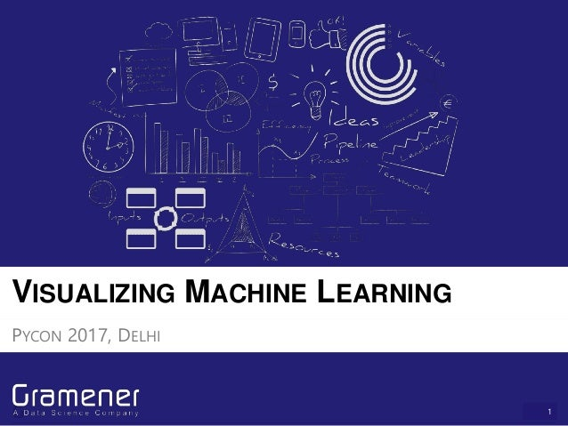 1 VISUALIZING MACHINE LEARNING PYCON 2017, DELHI