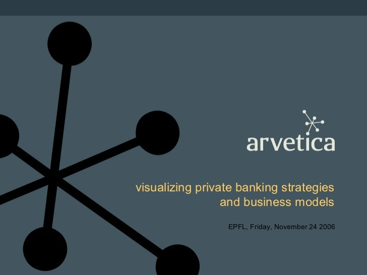visualizing private banking strategies and business models EPFL, Friday, November 24 2006