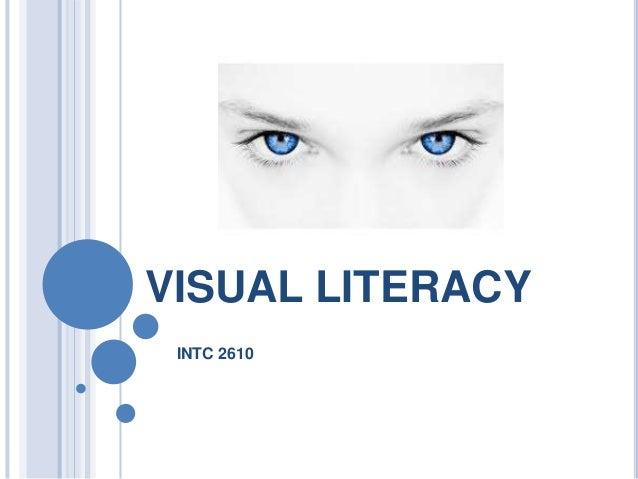 VISUAL LITERACY INTC 2610
