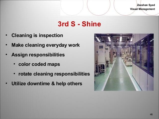 Quot Visual Management Amp 5s Quot In Lean T P S Workshop Slides