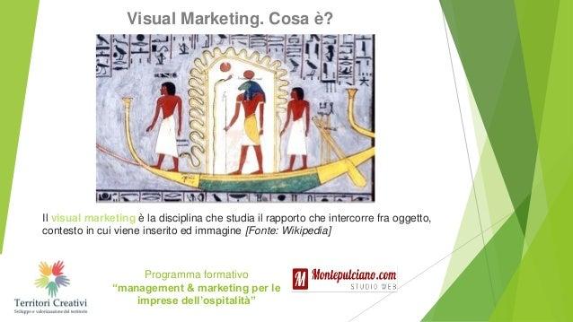 Visual marketing, social media e tool Slide 2