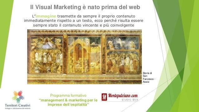 Visual marketing, social media e tool Slide 3