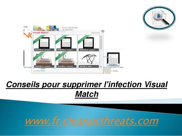 Conseils pour supprimer l'infection Visual Match  www.fr.cleanpcthreats.com
