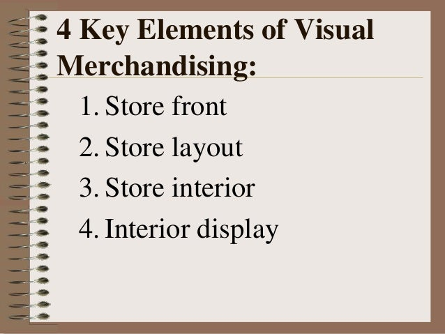 interior and exterior concepts of visual merchandising essay Keywords: store layout, visual merchandising, retail space management, food  retailing  the rest of the paper is organised as follows  combines the product,  environment and space into a stimulating and engaging exterior and interior that   [4] ballantine, p w , parsons, a , comeskey, k (2015) a conceptual model  of.