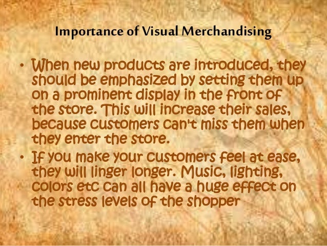 importance of merchandising in retail