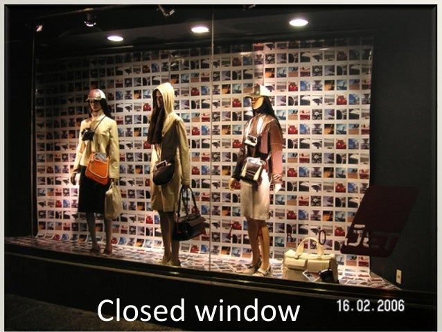 Visual merchandising & fashion store layout
