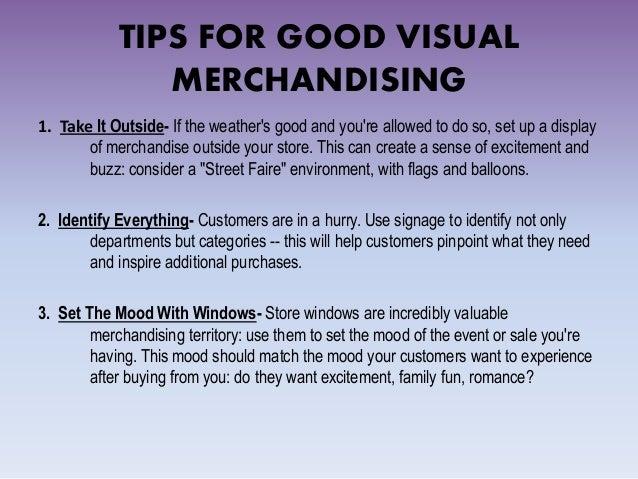 Visual merchandising & fashion store layout