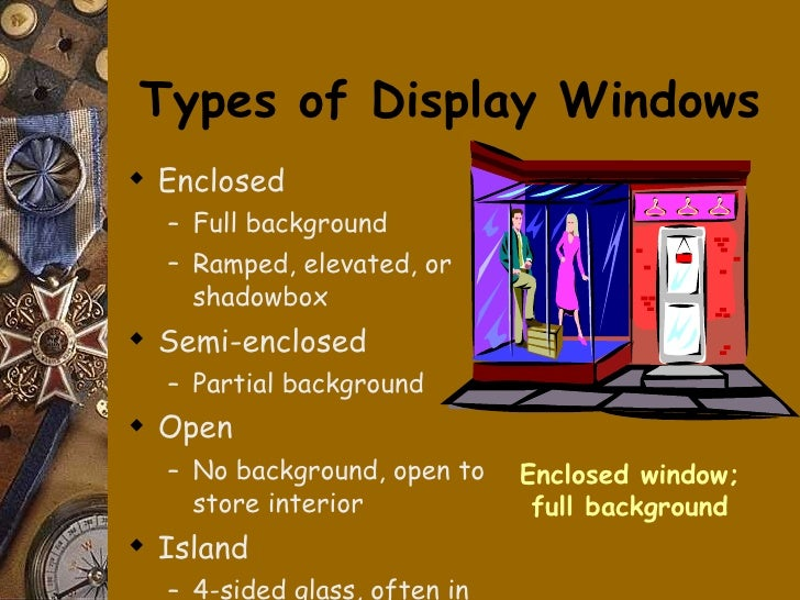 Types Of Exhibition Displays : Visual merchandising powerpoint educ
