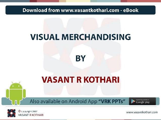 vasantkothari@gmail.com 1