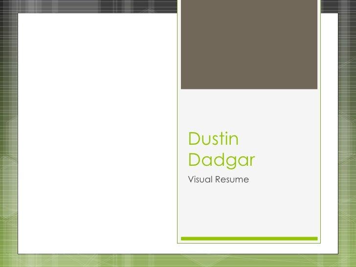 Dustin Dadgar Visual Resume