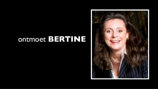 ontmoet BERTINE