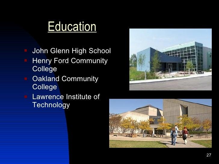 Visual resume - Oakland community college interior design ...