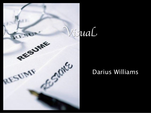 Visual     Darius Williams