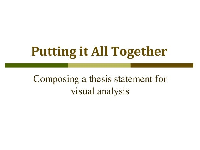 two components of a thesis statement News: two steps to a working thesis statement 11 nov 2014 thesis statements dictate the logical sequence of your paper if you are without these two parts, your sentence isn't a thesis statement.