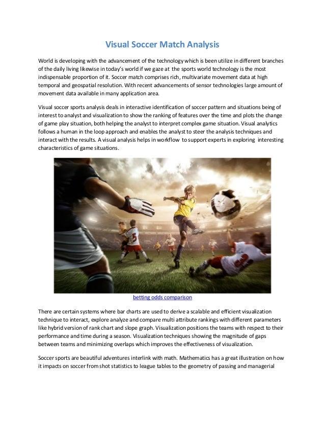 Visual soccer match analysis