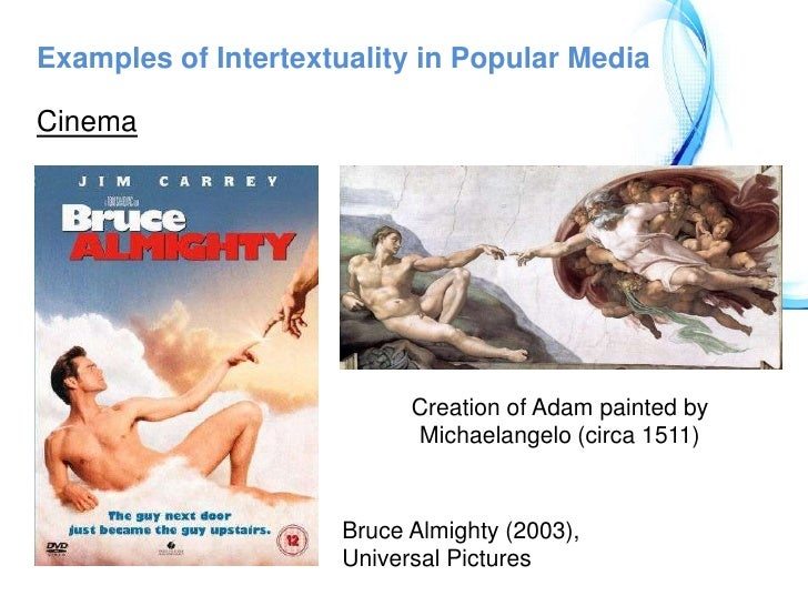 Intertextuality intertextuality refers to a literary and.