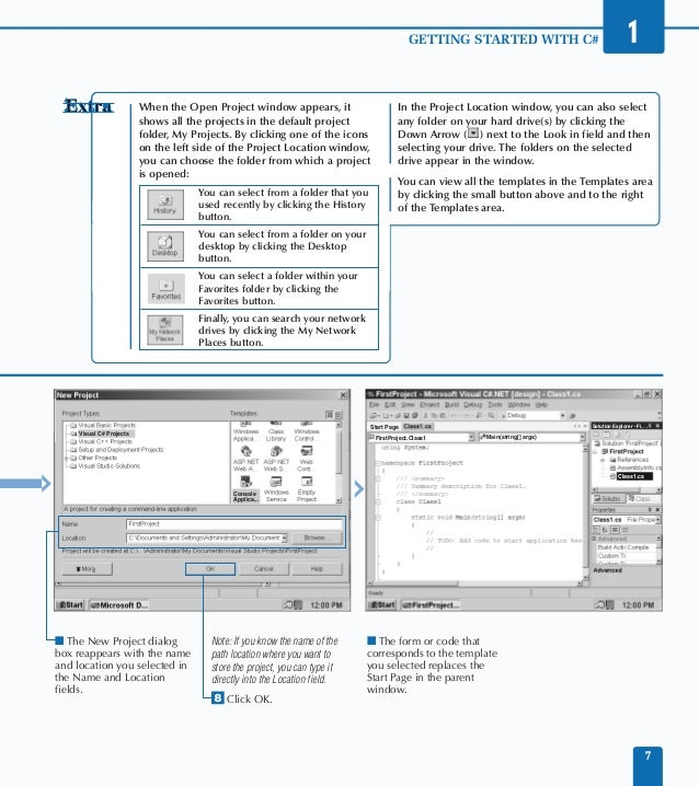 visual studio net c study guide rh slideshare net Study Guide Format Sample Creating a Study Guide
