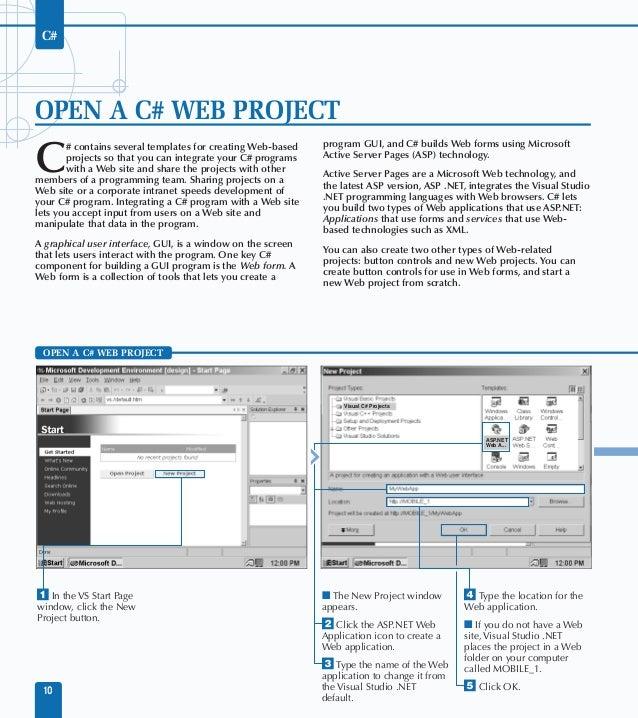 visual studio net c study guide rh slideshare net Study Guide Outline Teachers Study Guide Format Sample