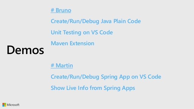 Visual Studio Code for Java and Spring Developers