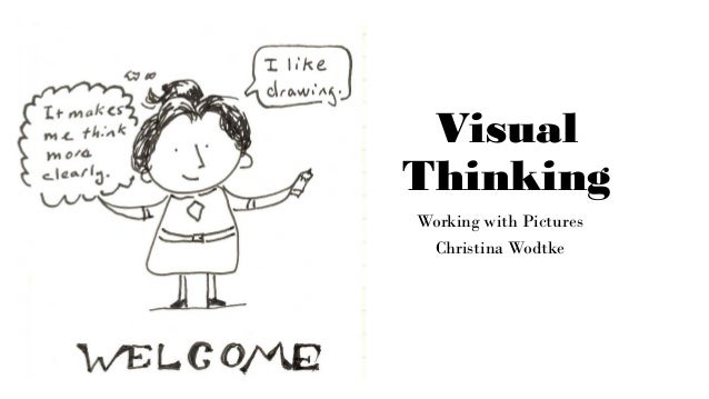 Visual Thinking Working with Pictures Christina Wodtke