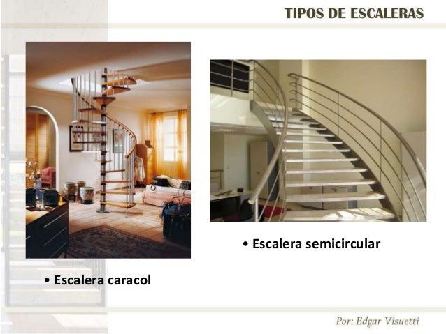 escalera caracol u escalera