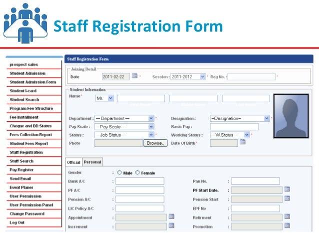 Visums School Management System