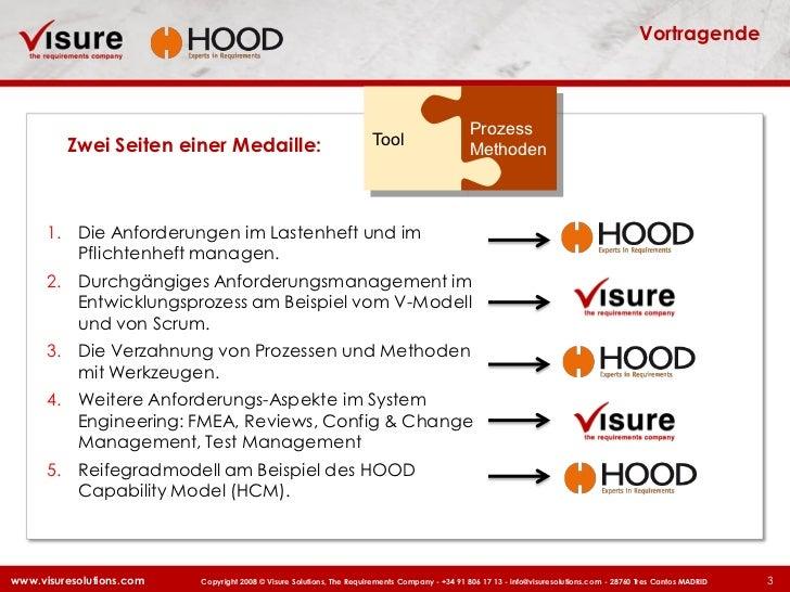 Visure Solutions German Road Show 2011 Requirements