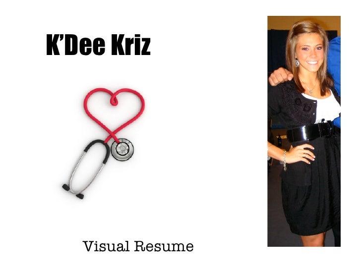 K'Dee Kriz   Visual Resume