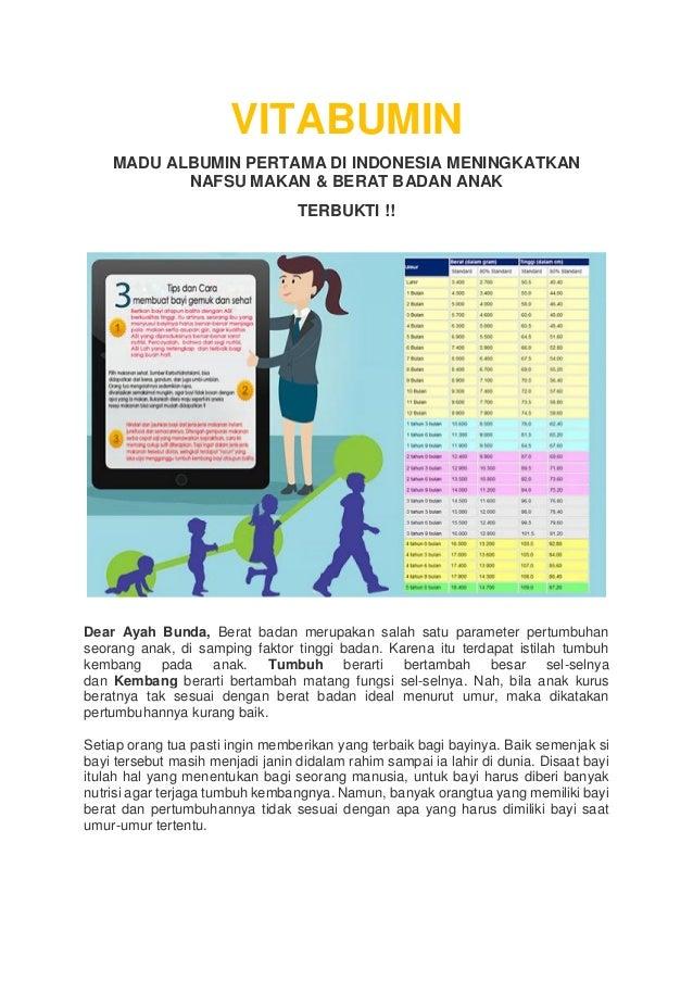 Vitabumin Madu Albumin Pertama Di Indonesia Meningkatkan