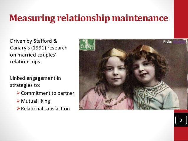 the unidimensional relationship closeness scale