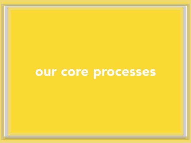 our core processes