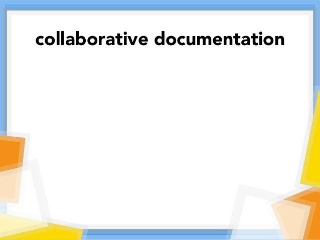 collaborative documentation