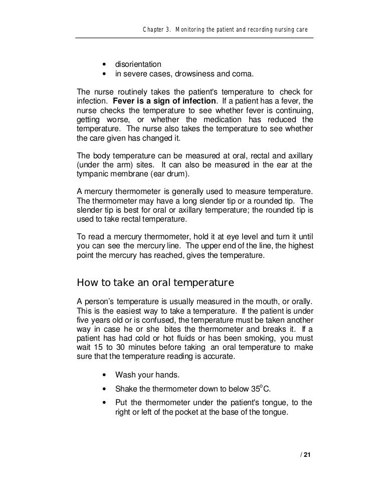 Vital signs and observation of patient – Vital Signs Worksheet