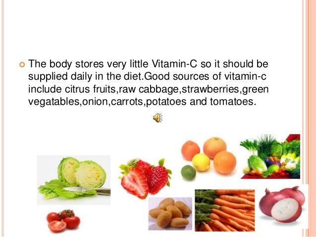 vitamin c and scurvy