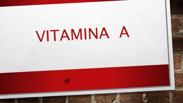 Características Gerais: A vitamina A é um micronutriente pertencente ao grupo das vitaminas lipossolúveis desempenha um im...
