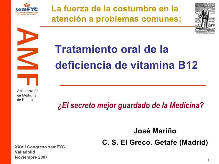 Vitamina b12 oral - En que alimentos esta la vitamina b12 ...